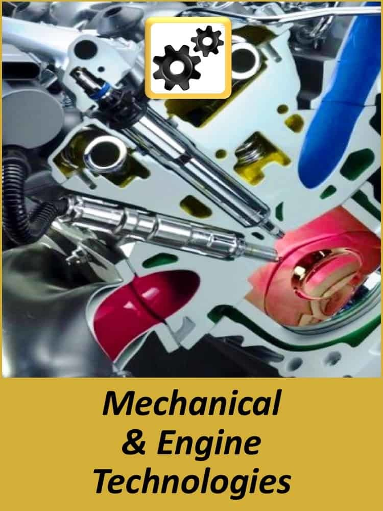 Technology Experience - Mechanical & Engine Technologies